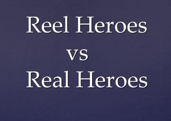 REEL HEROES VS REAL HEROES in PANDEMIC